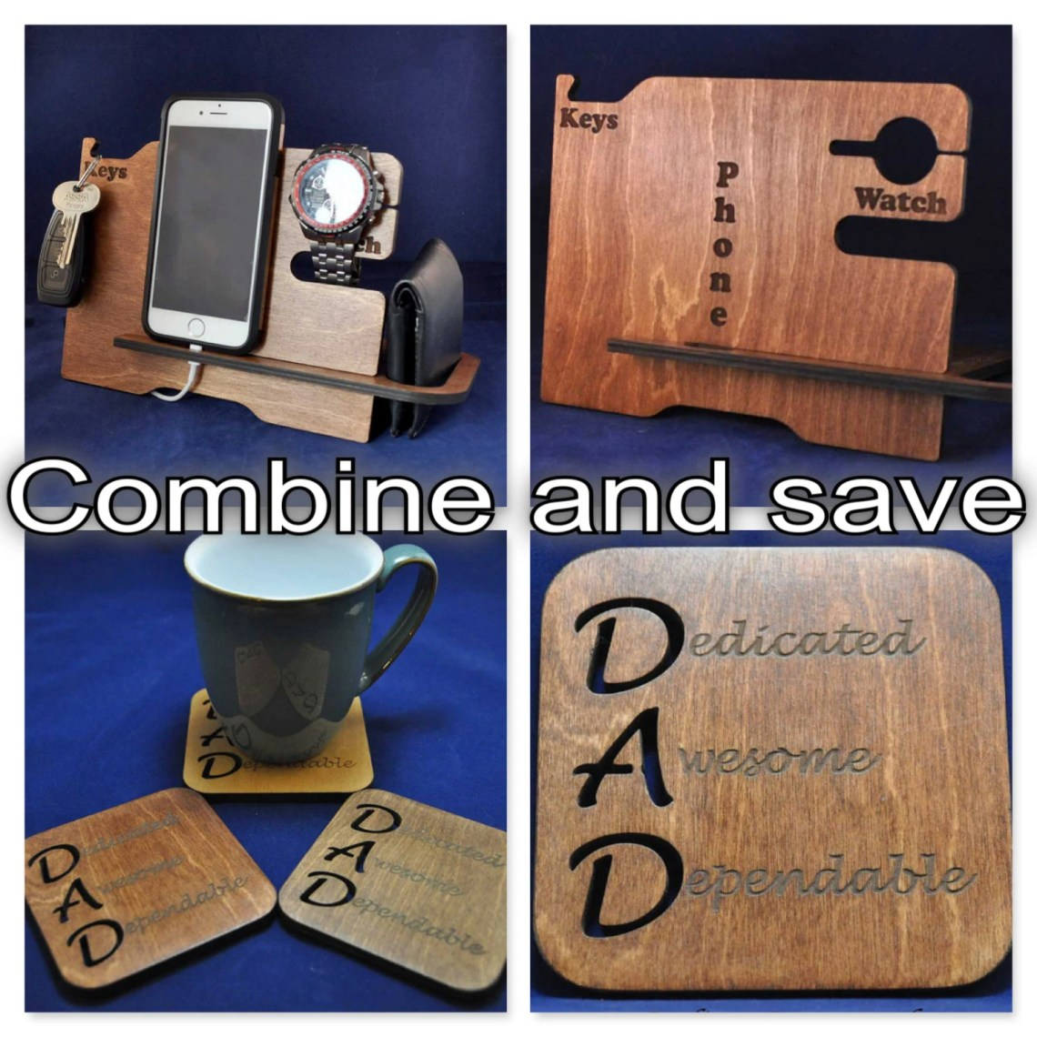 Wooden Valet Stand and ma...
