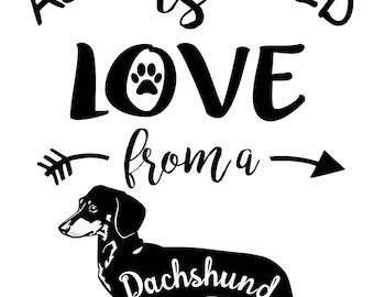 Download Dachshund svg file | Etsy