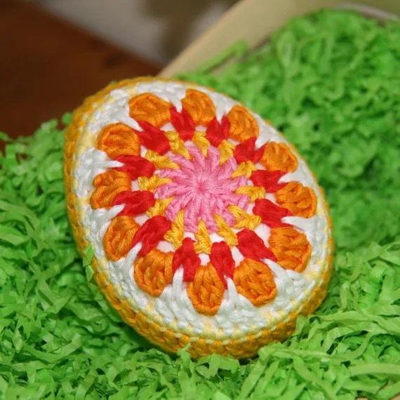 Crochet Decorative Easter Egg