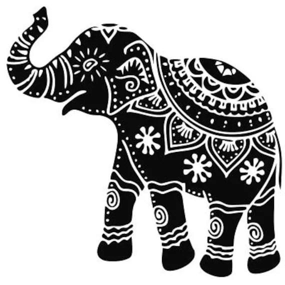 Download Ethnic Elephant SVG Mandala Elephant SVG Elephant SVG