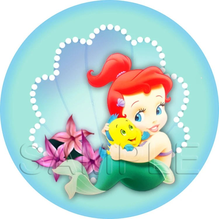 Disney Baby Princess Ariel The Little Mermaid Stickers