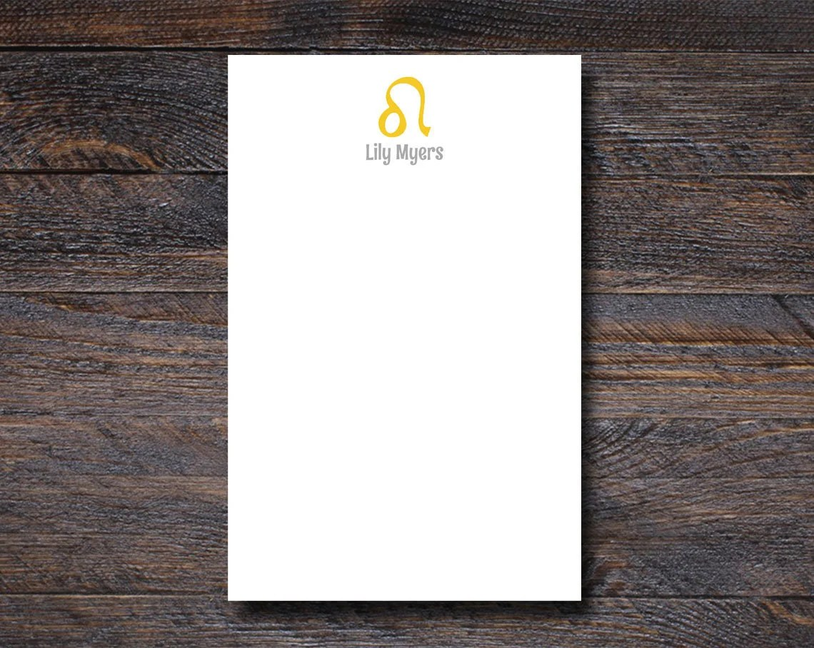 Leo Notepad - Personalize...
