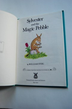 Vintage Children s Book Sylvester and the Magic Pebble Like this item