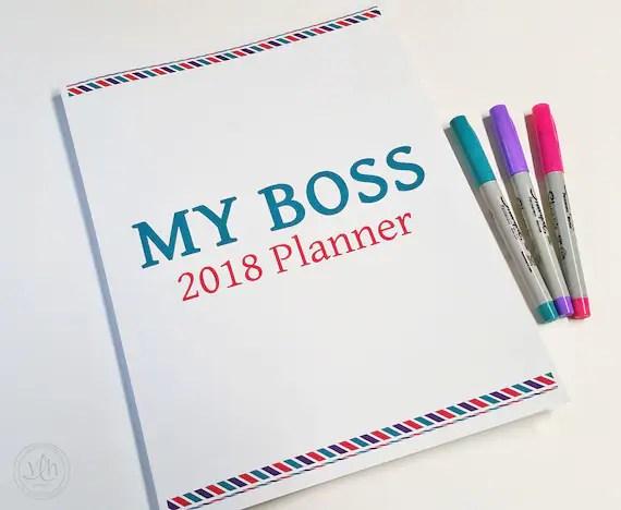 My Boss Planner