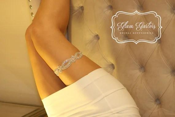 Glam Garters Wedding Garter Set Bridal Garter Wedding Bridal