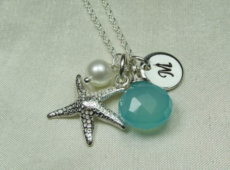 Beach Wedding Jewelry Set Of 6 Personalized Bridesmaid Gift