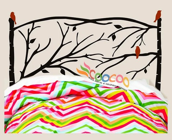 Headboard Tree Decal Wall Decal by coocoodecal