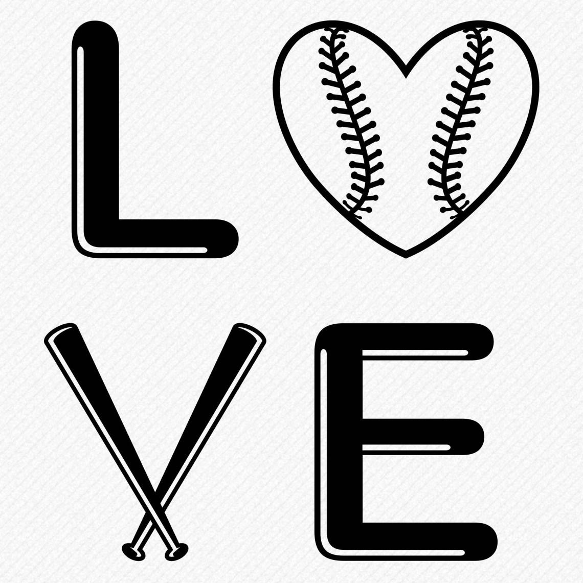 Download Love Baseball SVG, baseball words svg, love baseball ...