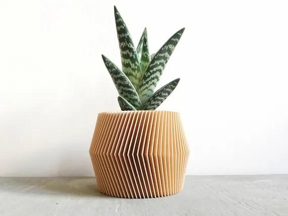 French Geometric Planter Pot