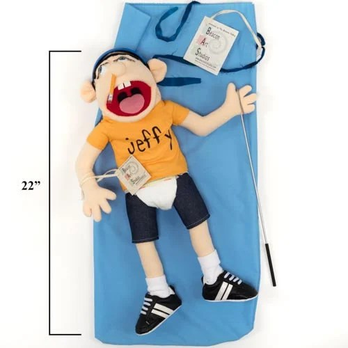 Jeffy Jeffy puppet doll Official SML puppet Youtub movies