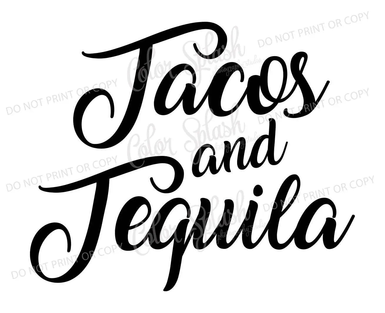 Tacos And Tequila Svg Taco Svg Food Saying Svg Taco