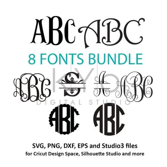 Download Fonts for Cricut svg files Font svg files Cricut Monogram Font