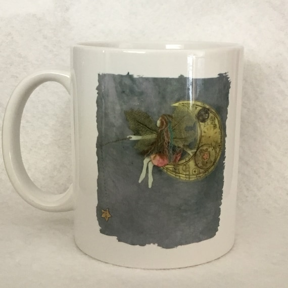 Ceramic faerie mug