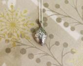 Silver acorn pendant, Yor...