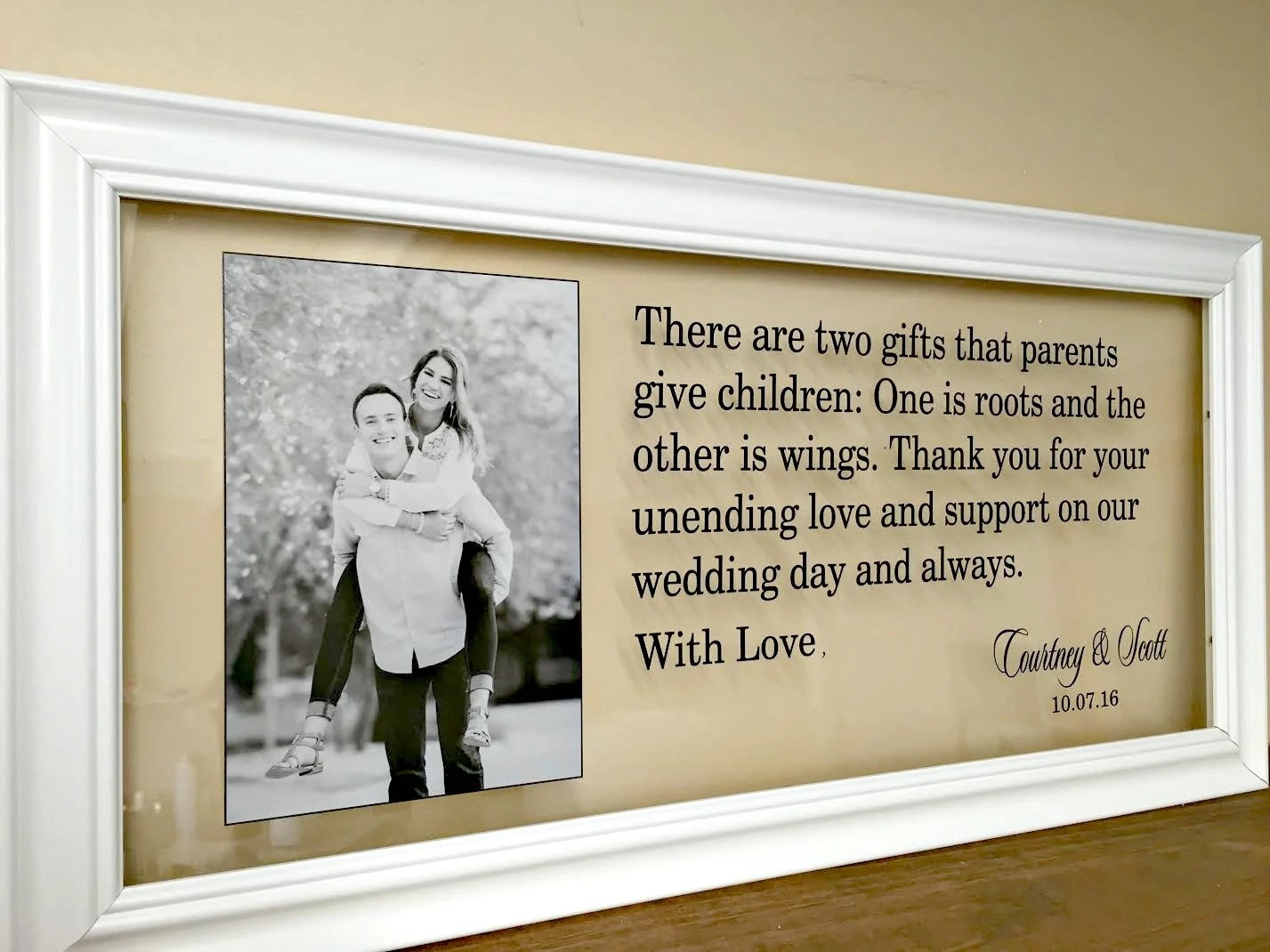 Wedding Gifts For Parents Mother Of The Groom Gift Wedding