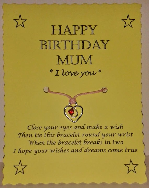 Mum Wish Bracelet