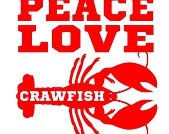 Download Crawfish decal   Etsy