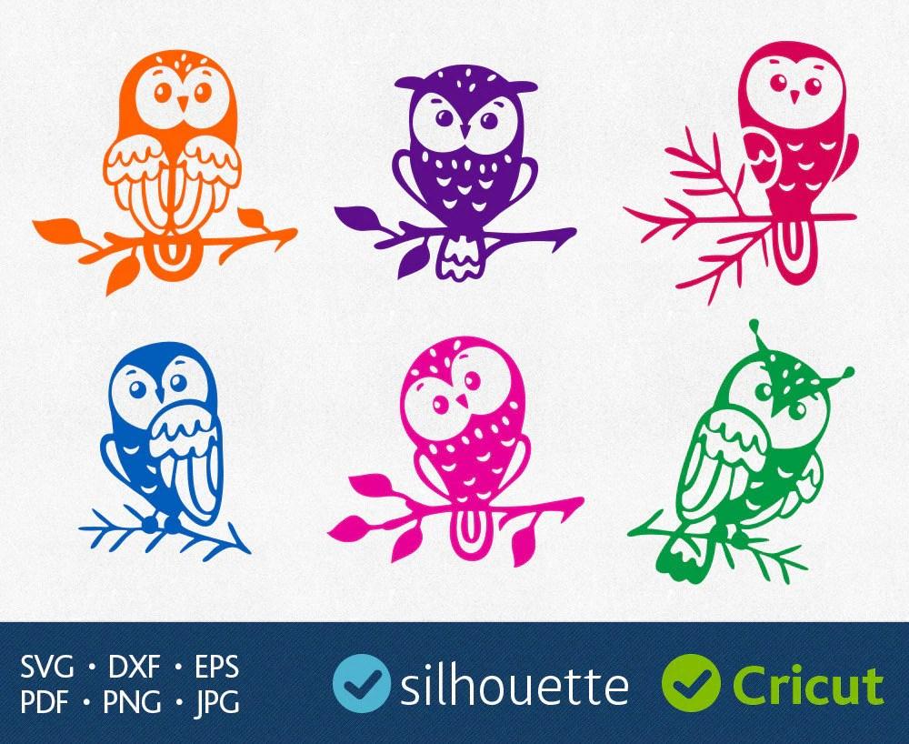 Download Owl Svg Cut Files Cricut downloads Svg Owl image Dxf