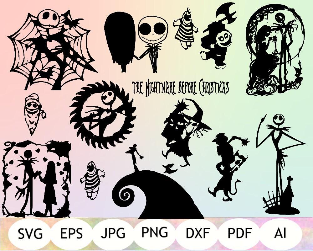 Download 52 Nightmare Before Christmas SVG, Nightmare Before ...