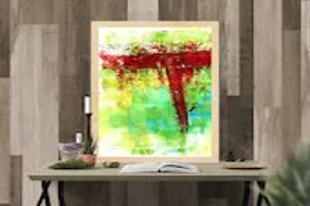 Vivid Painting, Knife Pai...