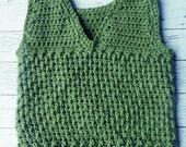 Crochet toddler boy vest ...