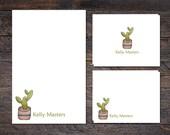 Cactus Stationery - Notep...