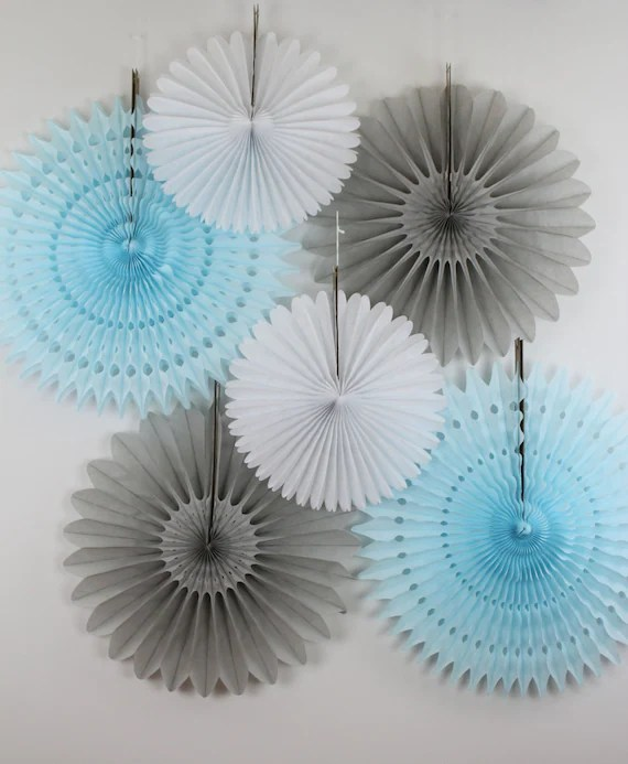 Items Similar To Baby Shower Decorations 6 Tissue Paper