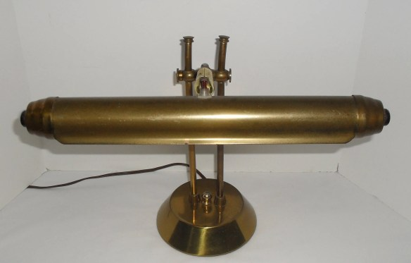 Vintage BRASS PIANO Lamp ...