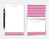 Preppy Stripes Stationery...