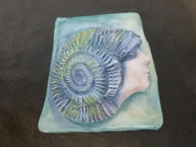 Handmade ceramic seashell...