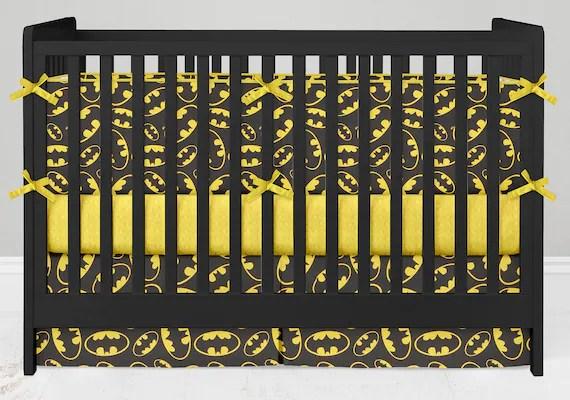 Batman Crib Set by lolaslovies