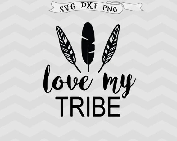 Download Love my tribe SVG Best Friends svg Bride Tribe SVG files for