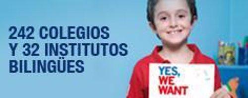 Campaña de colegios bilingües