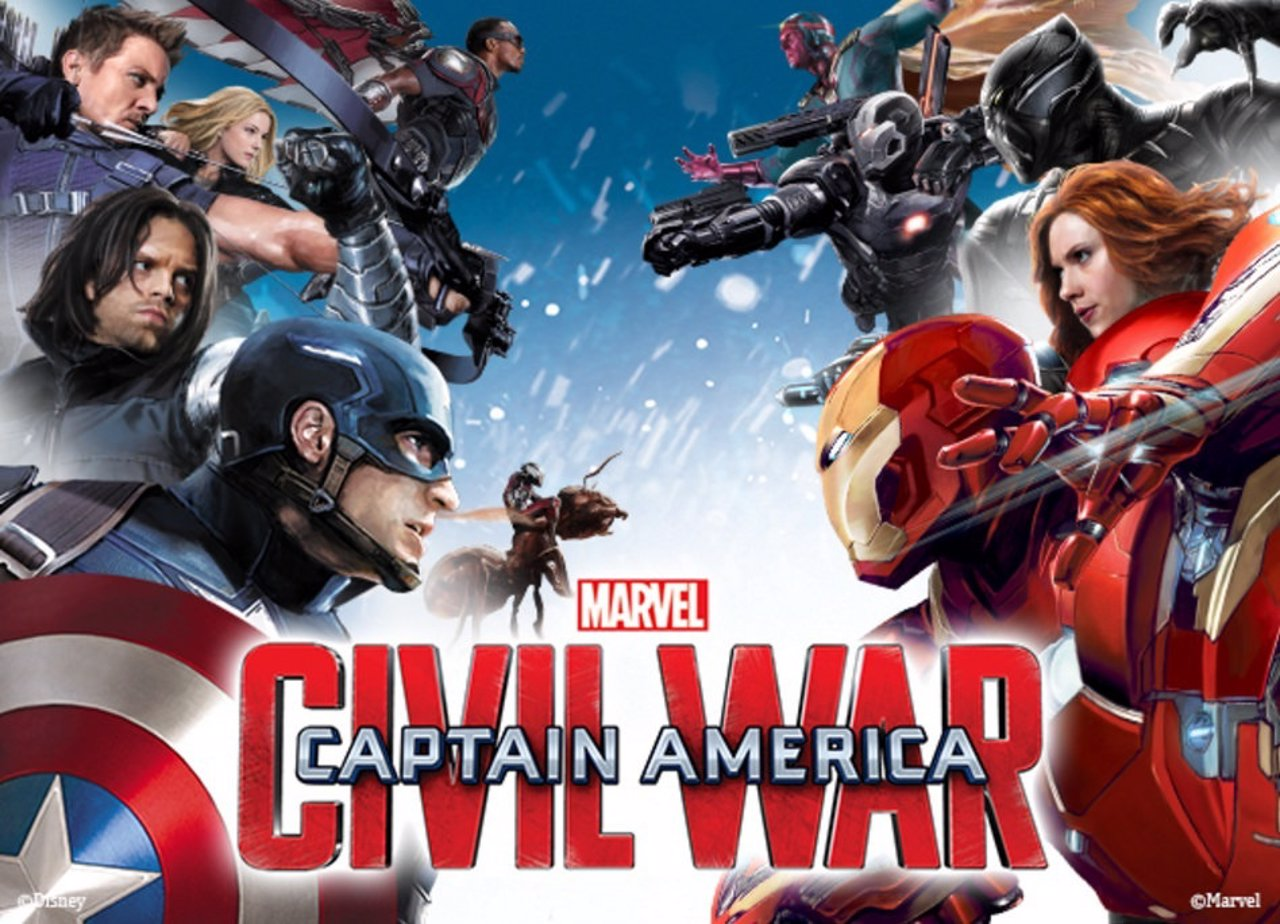 War Marvel Civil Avengers Sides