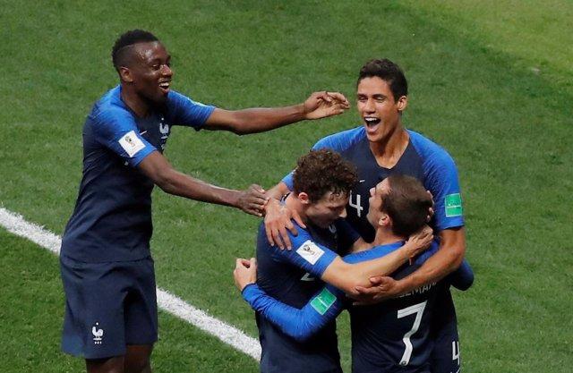 Francia campeona Mundial Antoine Griezmann Pavard Raphael Varane Matuidi