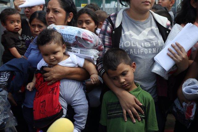 Familias migrantes en EEUU