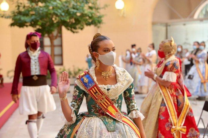 València entrega los premios de las Fallas 2020, seis meses después de  tener que cancelar la fiesta y entre mascarillas