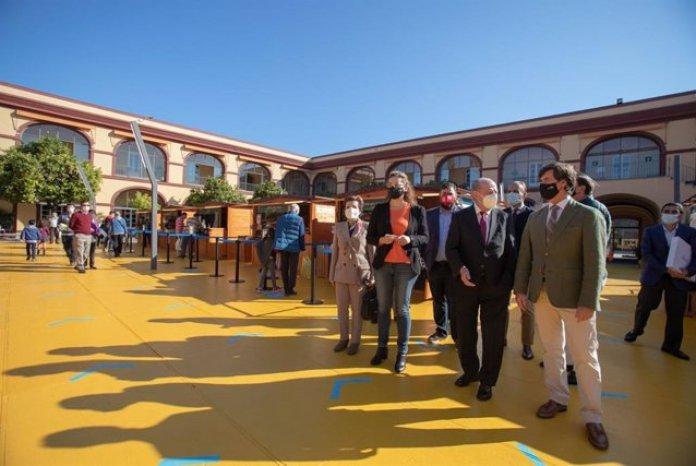 Comienza la XII Feria de Productos Locales Sabores de la Provincia de  Sevilla adaptada a las limitaciones y prevenciones