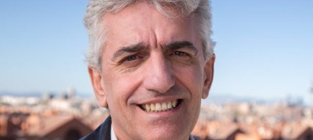El nuevo portavoz de Podemos en la ciudad de Madrid, José Luis Nieto Pereira.