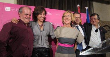 """Foto: Rosa Díez promete poner """"racionalidad y emoción"""" a la política  (EUROPA PRESS)"""