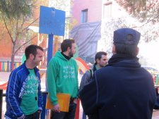 Protesta Camisetas Verdes