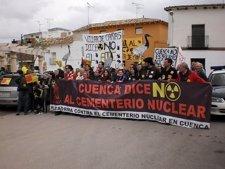 Manifestación Plataforma Anti ATC Cuenca, Villar De Cañas