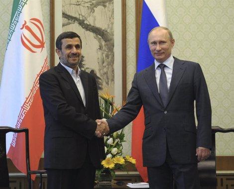 Putin Se Reúne Con Ahmadinejad