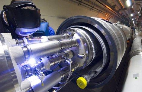 velocidad luz CERN