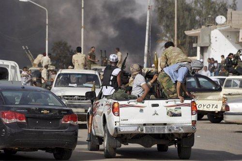 Líderes Tribales Se Enfrentan En Libia
