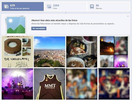 Álbumes de fotos en Facebook