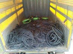 El material era transportado en un camión sustraído a un vecino de Guadalajara