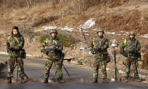 Conflicto de Corea, soldados surcoreanos