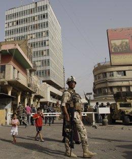 Atentado cerca del banco central de Irak