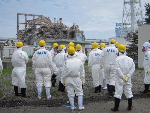 Inspectores De La AEIA Visitan Fukushima